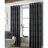 Riva Home Aviemore Eyelet Curtains - Grey