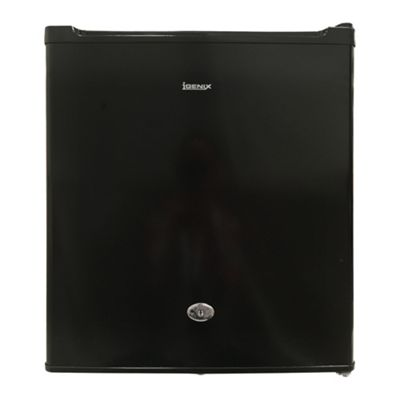 Igenix IG3711BL 47 Litre 44cm Counter Top Fridge with Lock - Black