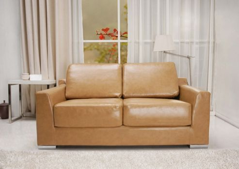 Leader Lifestyle Paris Bonded Leather Convertible Sofa Bed
