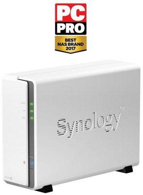 Synology DiskStation DS115j 1-Bay Diskless Desktop Network Attached Storage