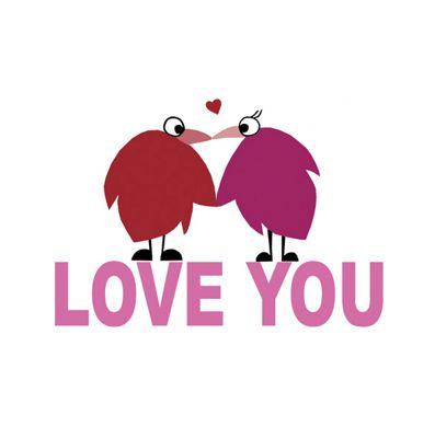 Holy Mackerel Greetings Card- Love you card