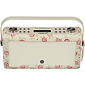 VQ Hepburn MkII DAB/DAB+/FM Radio with Bluetooth (Emma Bridgewater- Rose & Bee)