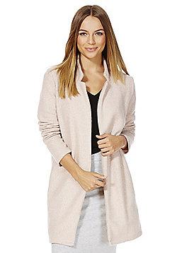 F&F Bouclé Coat - Blush