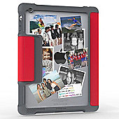 STM Tablet case for 2 3 Apple iPad Mini - Red