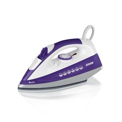 Swan PowerPress Steam Iron 2800W- Purple