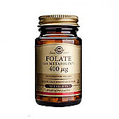 Solgar Folate 400ug Tablets 50