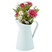 Floral Enamel Jug