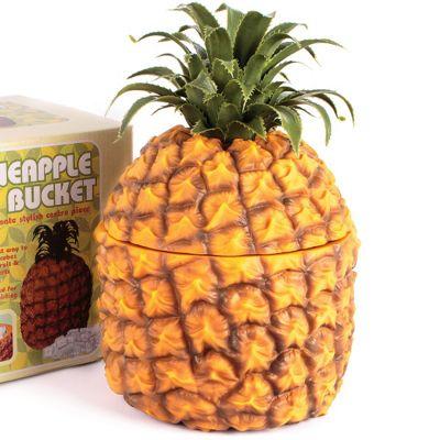 Retro Pineapple Ice Bucket Insulated 1500ml