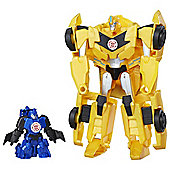 Transformers Combiner Force Stuntwing And Bumblebee