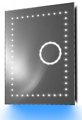 Magnification Mirror with UnderLighting, Bluetooth, Demist & Sensor k101Baud