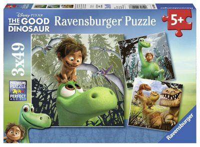 Ravensburger The Good Dinosaur Puzzle (3 x 49-Piece) - Games/Puzzles