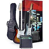 Rocket Electric Guitar Starter Pack - Sunburst