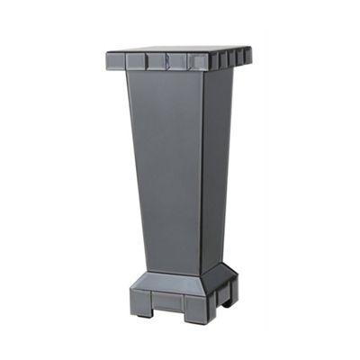 Smoke Mirror Small Tile Pedestal
