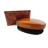 Hydrea Men's Military Hair Brush With Black Boar Bristle