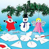 3D Christmas Tree Hanging Decorations (12 Pcs)