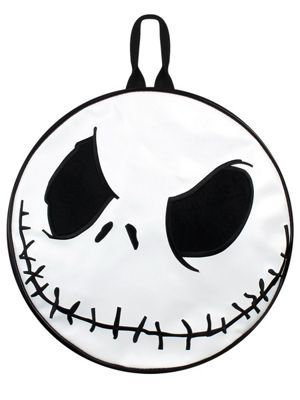 The Nightmare Before Christmas Backpack, Black & White