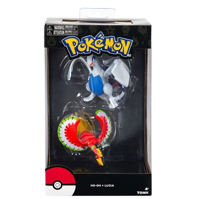 Pokemon Legendary Figures - ho -Oh And Lugia