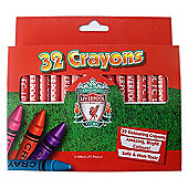 Liverpool FC 32 Crayons Colouring Pack