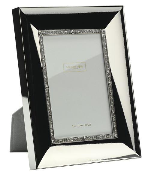 Addison Ross Photo Frame Silver Plate Concave Frame - 20 cm x 25 cm