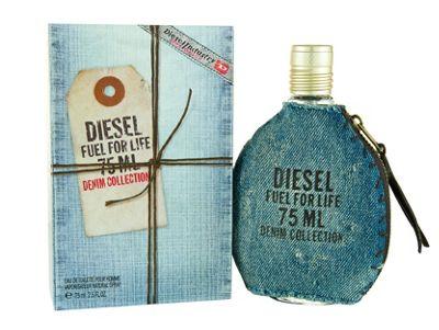 Diesel Denim Fuel For Life Eau De Toilette 75ml