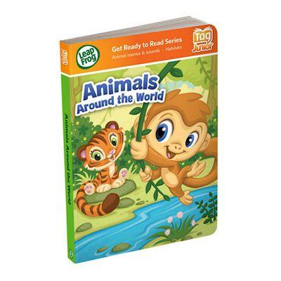 LeapFrog Tag Junior Book - Animals Around the World