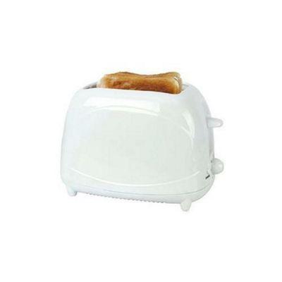 Lloytron E2010WH 2 Slice 700w Toaster - White