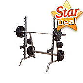 Body-Solid Commercial Multi-Press/Squat Rack