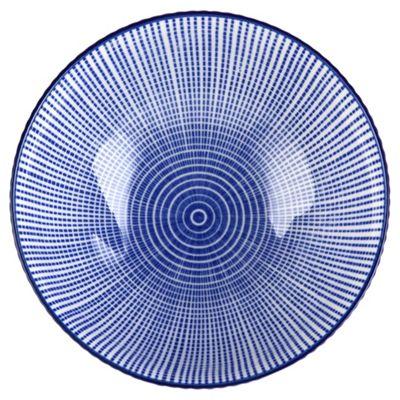 Oriental Blue Large Bowl