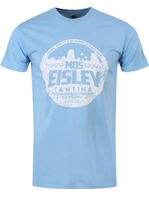 MOS Eisley Cantina Sky Blue Men's T-shirt