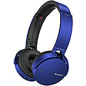 Sony MDRXB650BT Wireless Headphones (Blue)