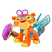 Animal Jam Sparkle Tiger Figure with Light-up Ring