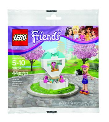Lego Friends : Wish Fountain Set (in Plastic Bag) (30204)