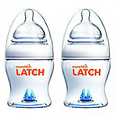 Munchkin 2 Pack 4oz 120ml Latch Bottle Euro 5 Language