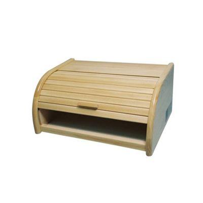 Apollo Beechwood Roll Top Bread Bin