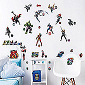 Marvel Avengers Wall Stickers - Pack of 47