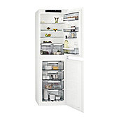 AEG SCE81812NS 264litre Built-in Fridge Freezer with LCD Display, Class A+