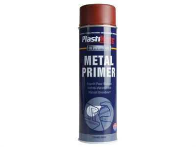 Plasti-kote Industrial Primer Spray Red Oxide 500ml