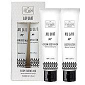 Scottish Fine Soaps Au Lait Body Essentials Gift Set