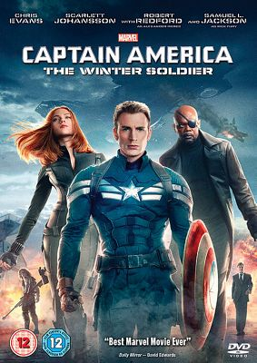 Marvel'S Captain America: The Winter Soldier Dvd