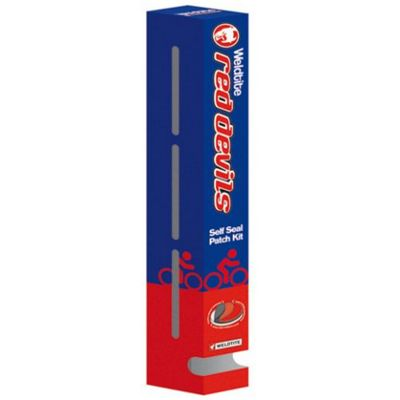 Weldtite Red Devil Self Seal Repair Kit Dispenser (25 in Dispenser)