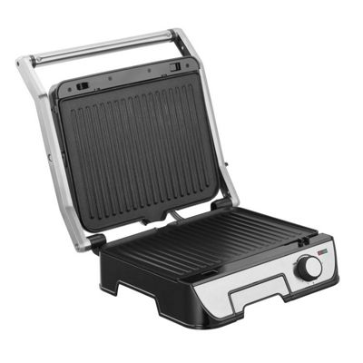 VonShef 4 Slice Sandwich Press & Grill with Detachable Plates