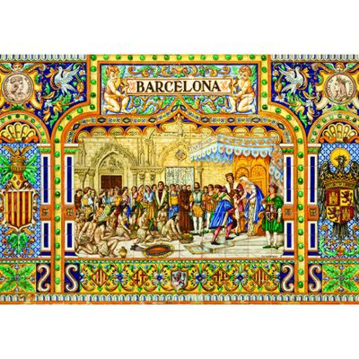 Tiles of Barcelona - 3000pc Puzzle