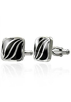 Urban Male Stainless Steel Contemporary Cufflinks