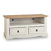 ValuFurniture Corona 2 Drawer TV Unit - Cream