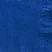 Royal Blue Dinner Napkins - 2ply Paper - 50 Pack