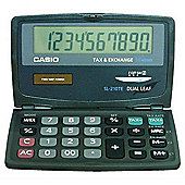 Casio SL-210TE Pocket Basic Black calculator -