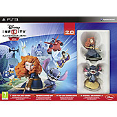 Disney Infinity 2.0 Disney Toybox Pack Starter Set (PS3)