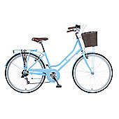 Viking Belgravia Traditional Dutch Style Bike Blue