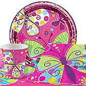 Butterfly Sparkle Value Party Pack for 8