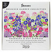 Designer Garden Pre-Assembled 12pc Border Fragrant Flower Seed Collection Kit